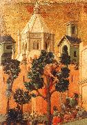 Duccio di Buoninsegna Entry into Jerusalem oil painting picture wholesale